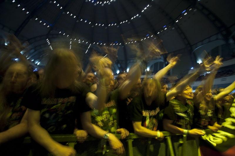 Iron Maiden live, 28.05.2011 Frankfurt, Festhalle