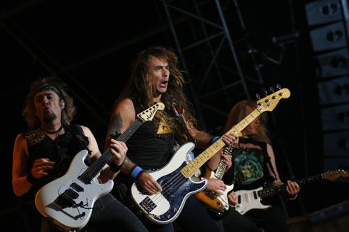 Iron Maiden live beim Wacken Open Air 2008