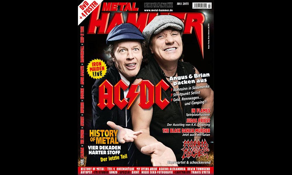 Metal Hammer Juli 2011