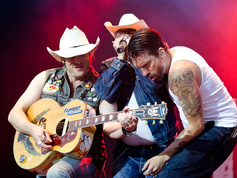 The BossHoss, live, Rock am Ring 2011