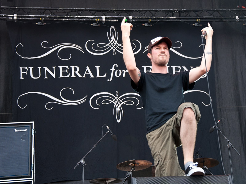 Funeral For A Friend, live, Rock am Ring 2011