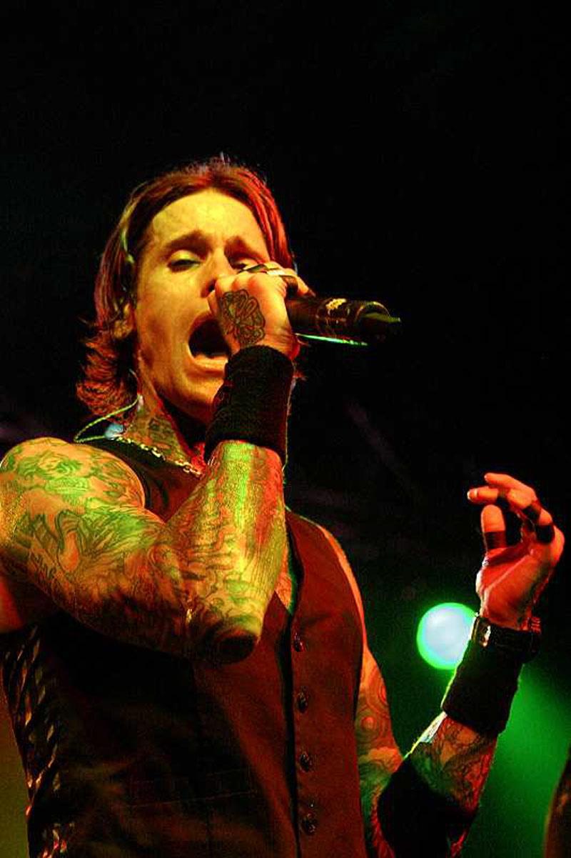 Buckcherry, live, 21.06.2011, München, Backstage