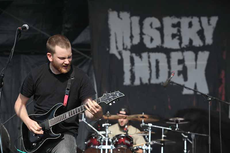 Misery Index, Metalfest Dessau, 2011