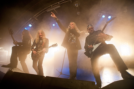 Saxon, live, 08.06.2011 Hamburg, Markthalle