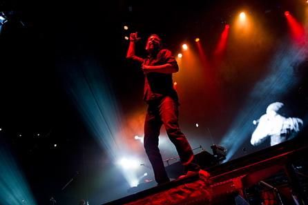 Linkin Park live, 21.06.2011 Hamburg, o2 World
