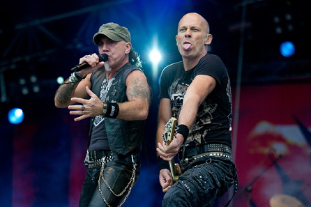 Accept, live 2011, Sweden Rock Festival