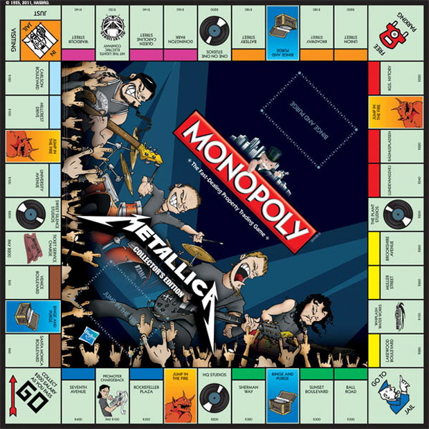 Metallica Monopoly-Spiel