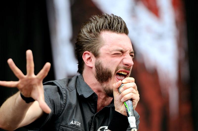 Caliban, live, Rock am Ring, 2011