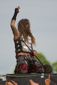 Rob Zombie, live 2011, Sweden Rock Festival