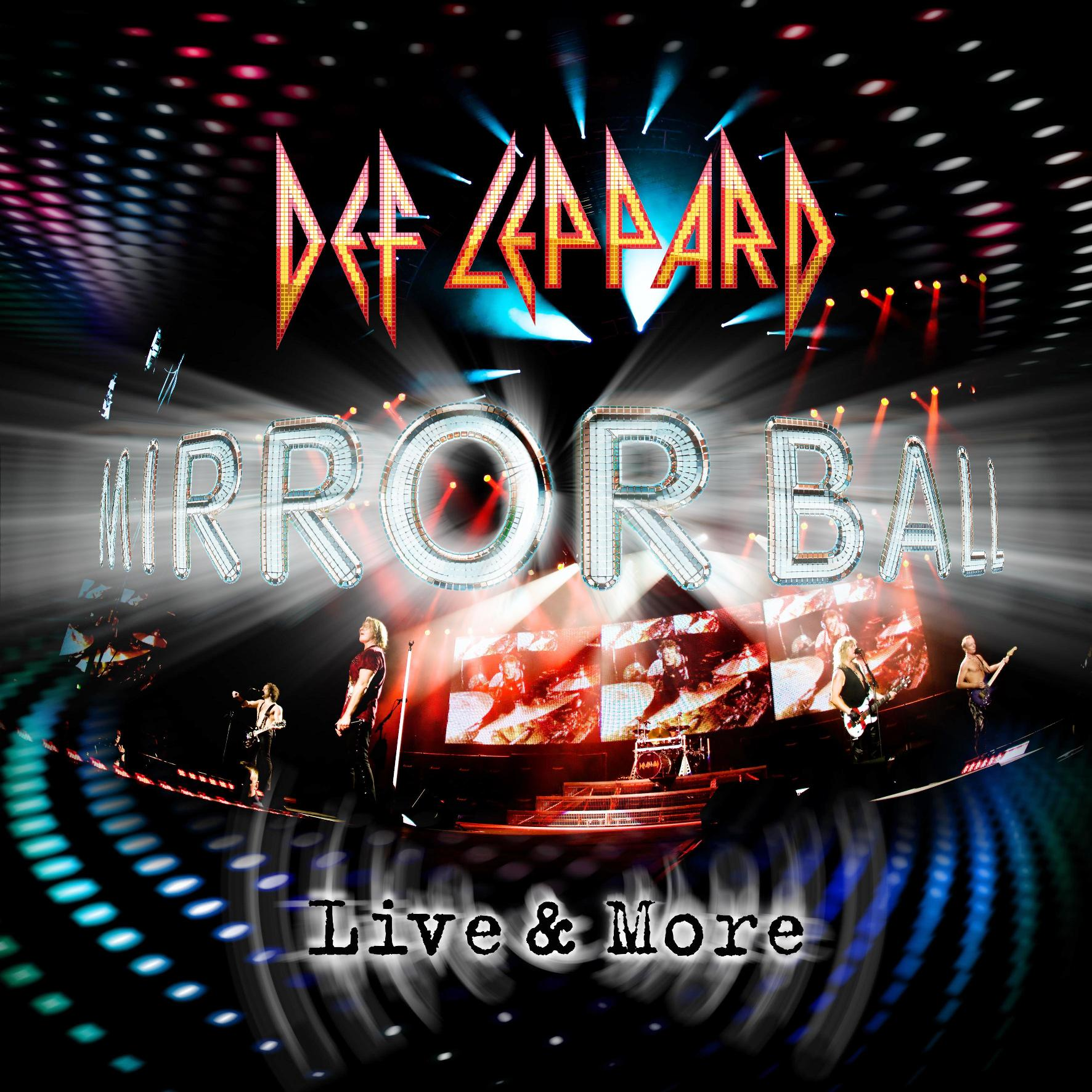 Def Leppard, Mirrorball, Live & More, Cover