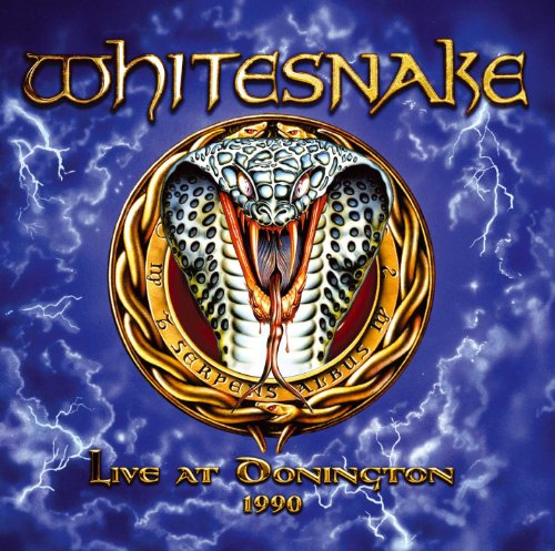 Whitesnake, Live At Donington 1990, Cover