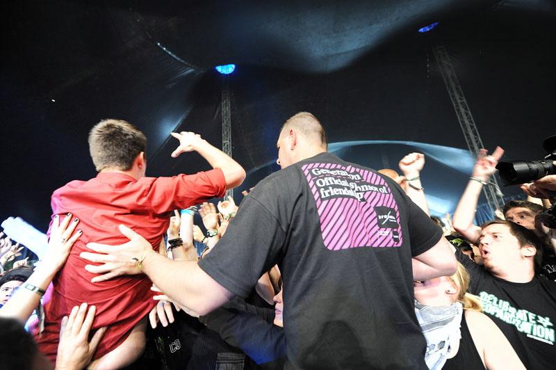 Heaven Shall Burn, Graspop Metal Meeting 2011