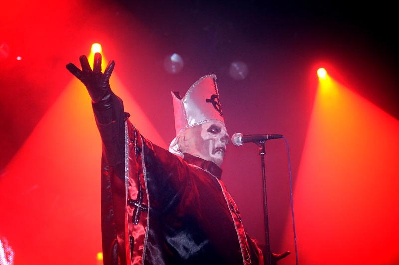 Ghost, Graspop Metal Meeting 2011