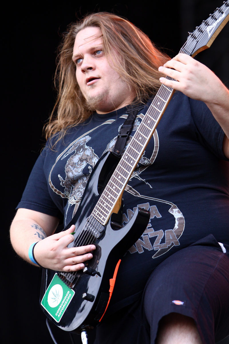 Carnifex, live, With Full Force 2011