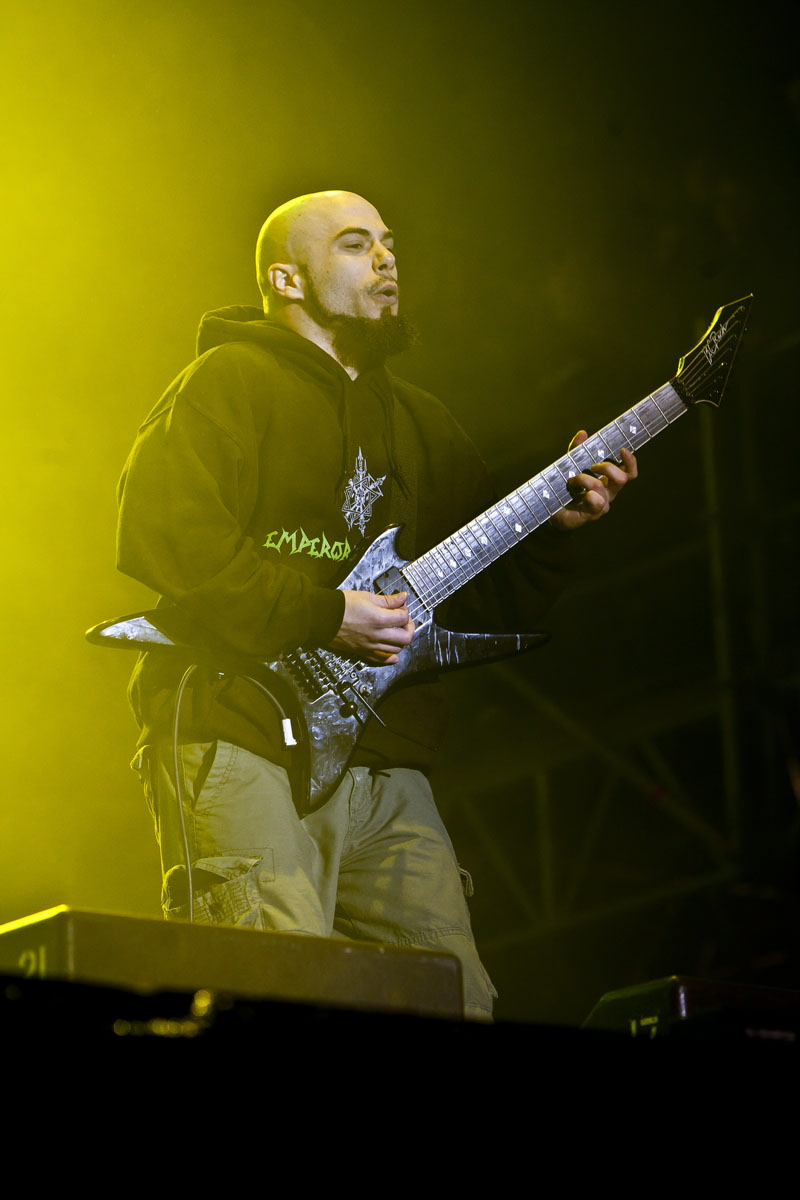 Cavalera Conspiracy, live, With Full Force 2011