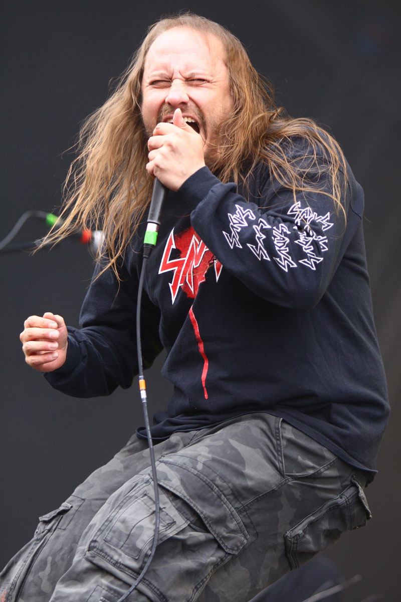 Entombed, live, With Full Force 2011
