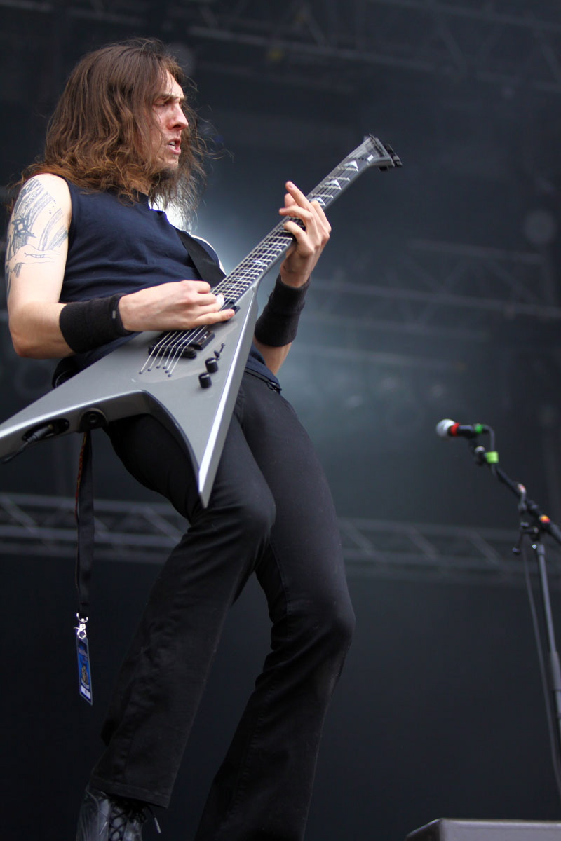 Evile, live, With Full Force 2011