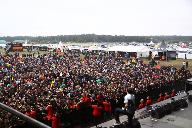 Parkway Drive, live, With Full Force 2011