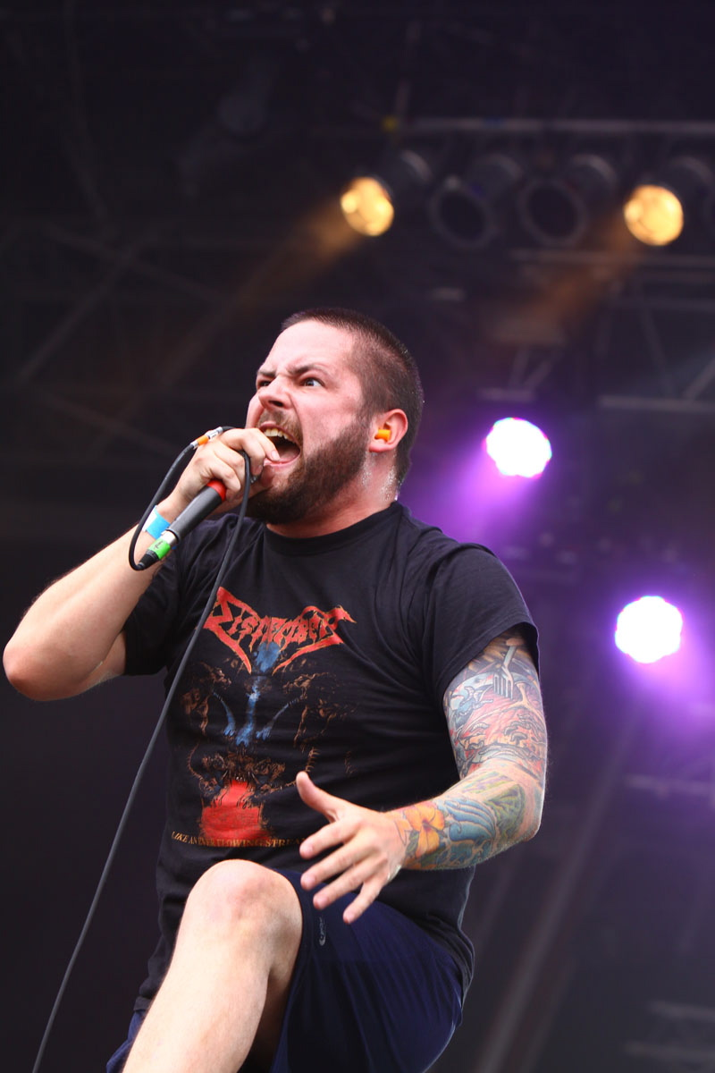 The Black Dahlia Murder, live, With Full Force 2011