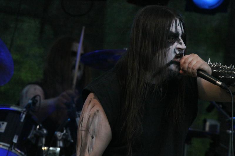 Atras Cineris, live, Under The Black Sund 2011