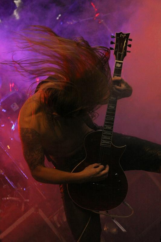 Massemord, live, Under The Black Sund 2011