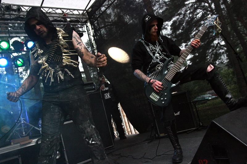 Thorybos, live, Under The Black Sund 2011