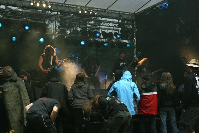 Kratein, live, Under The Black Sund 2011