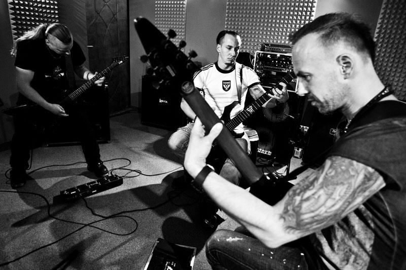 Behemoth im Proberaum, 2011