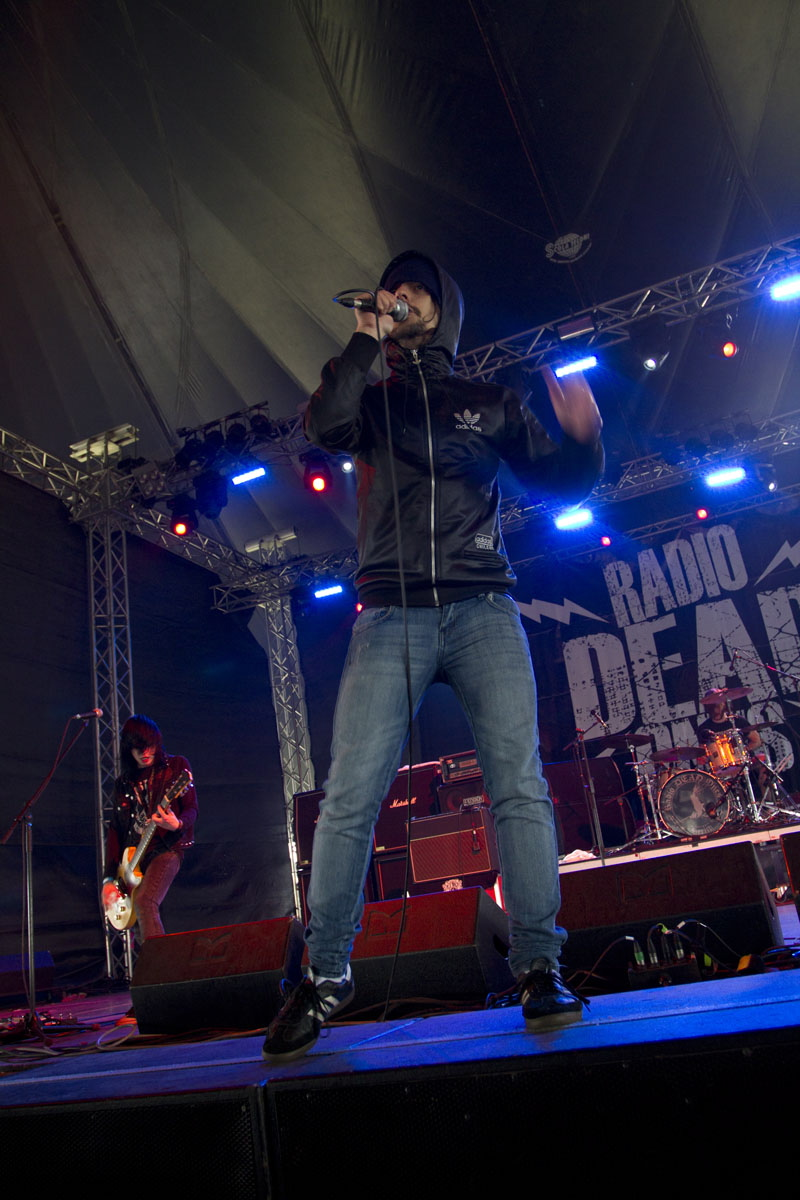 Radio Dead Ones, live, With Full Force 2011