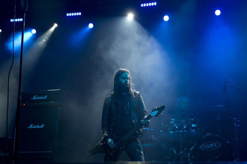 Solstafir, live, With Full Force 2011
