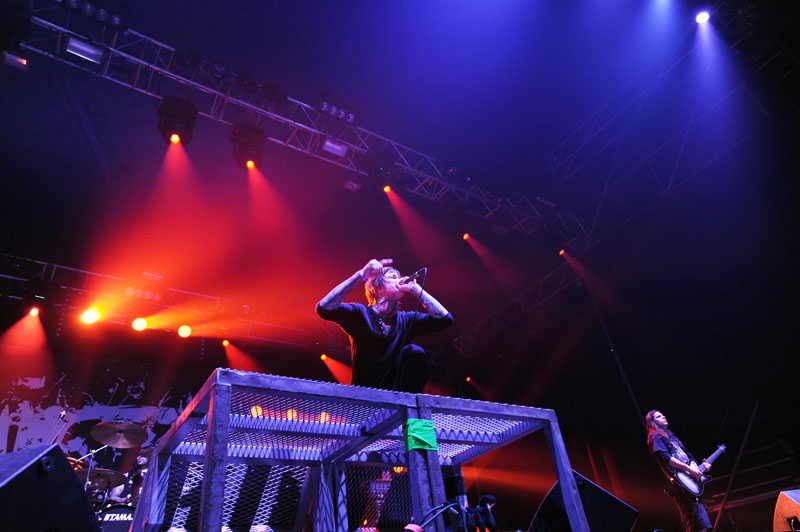 Suicide Silence, Graspop Metal Meeting 2011