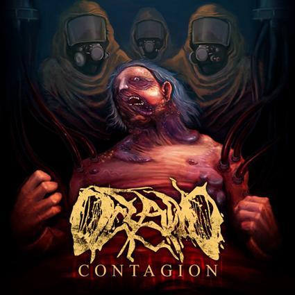 Oceano - Contagion CD-Cover
