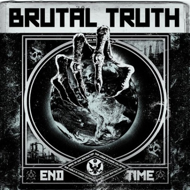 Brutal Truth, Cover, End Time