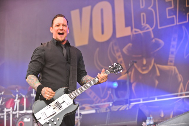 Volbeat, live, Rock am Ring 2011