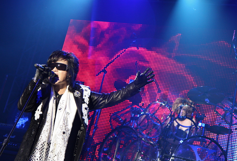 X-Japan, live, 04.07.2011 Berlin, Columbiahalle