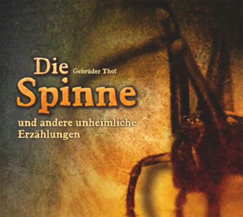Gebrüder Thot, Die Spinne, Cover