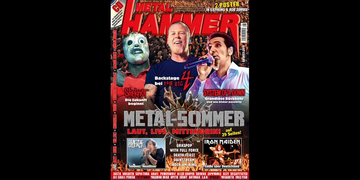 Metal Hammer August 2011, Titel