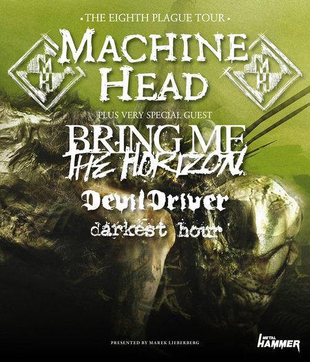 Machine Head Tourposter 2011