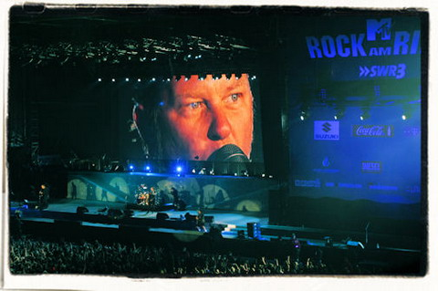 Metallica live Rock am Ring 2008