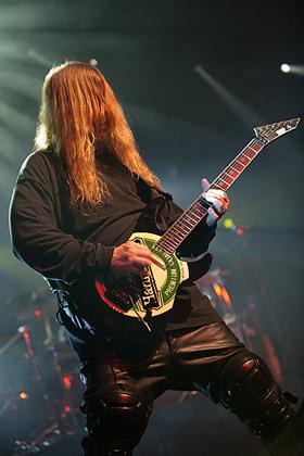 Slayer, Jeff Hanneman live 07.06.2010 Hamburg, Docks