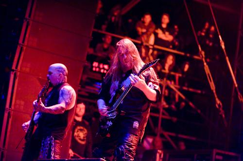 Slayer live beim Wacken Open Air