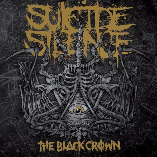 Suicide Silence, Cover, The Black Crown