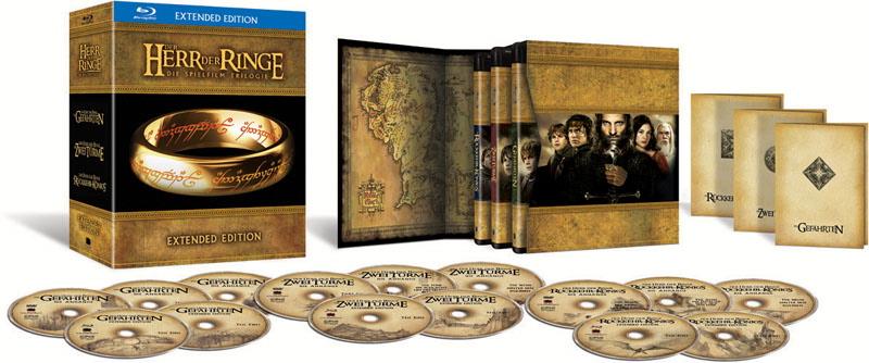 Herr der Ringe, Blu-ray-Box