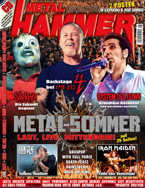 Metal Hammer, August 2011