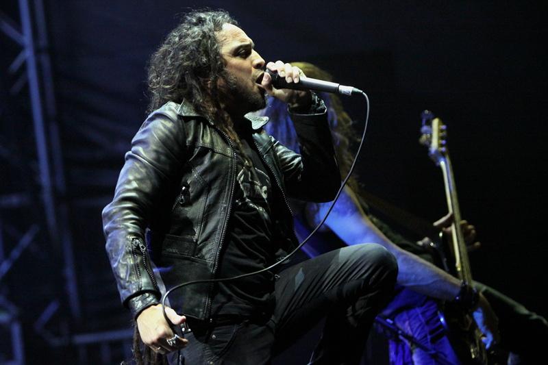 Death Angel, live, Metalcamp 2011