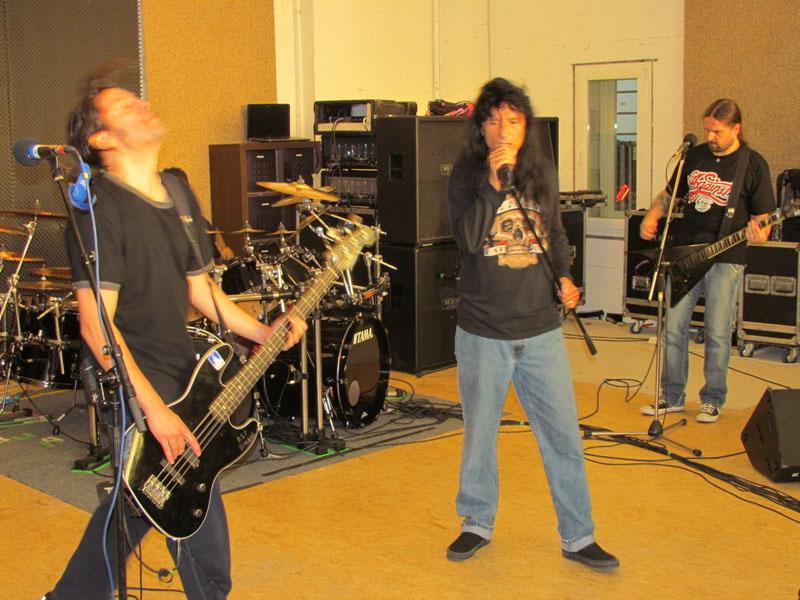 Bei Anthrax im Proberaum