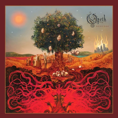 Opeth, Heritage, Cover