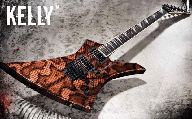 Die Kelly: Eine unglaubliche Gitarre mit einem wirklich massiven Sound, wohl das A und O in Sachen Rock-Gitarre. Die coolste