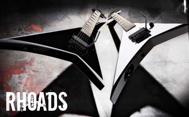 Nach einer von Randy Rhoads und Grover Jackson auf eine Serviette gezeichneten Vorlage erschien die Gitarre 1980. Die erste e