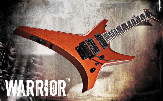 1989 brachte Jackson sein ausgefallenstes und brutalstes Design unter dem treffenden Namen Warrior auf den Markt. Mit jungen